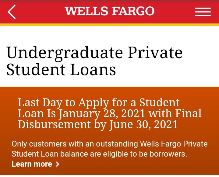 Apply Wells Fargo Student Loans