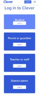 Clever Login For Students