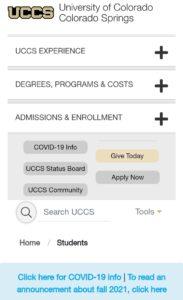 UCCS Portal - UCCS student portal - UCCS email login