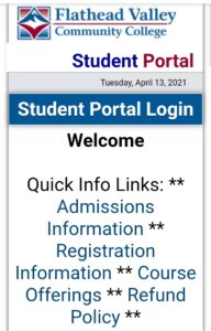 Flathead Valley Community College - FVCC Eagle Online Login