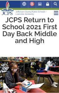 Jefferson County Public Schools Student Portal
