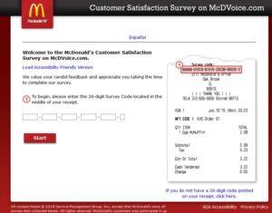Mcdvoice survey www mcdvoice com