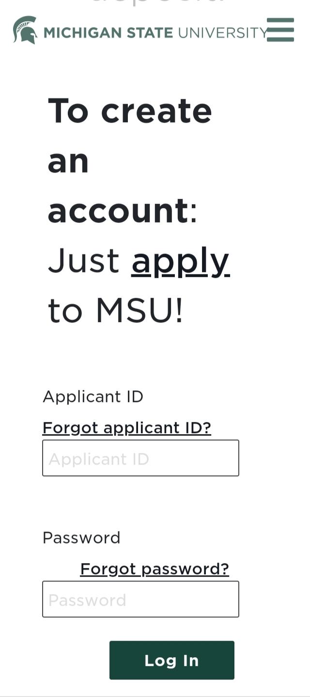 MSU Student Portal Login Michigan State University