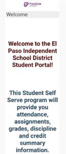 Student Portal Episd Login