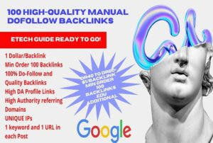Buty High Quality Dofollow Backlinks White Hat Off Page SEO