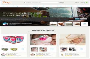 Etsy earn money online